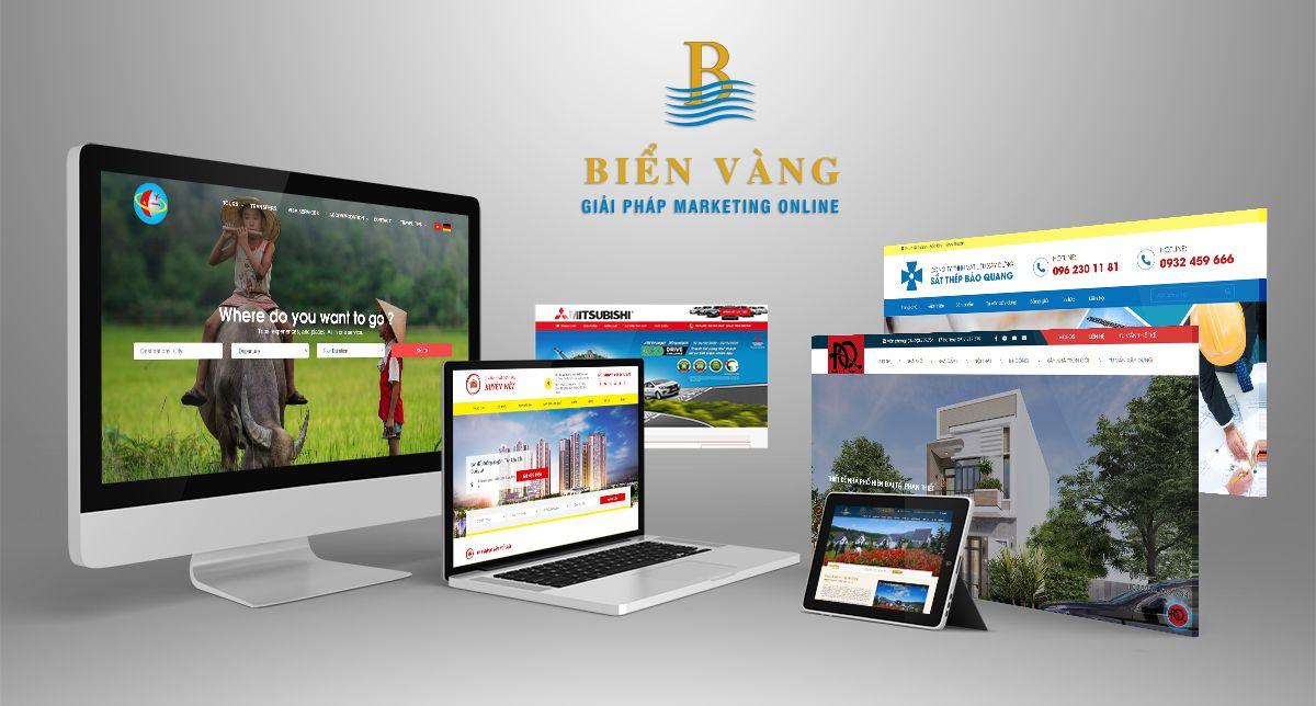 Thiết kế web chuyên nghiệp Biển Vàng
